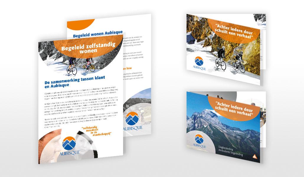 reclamebureau friesland grafisch ontwerp drukwerk flyer brochure