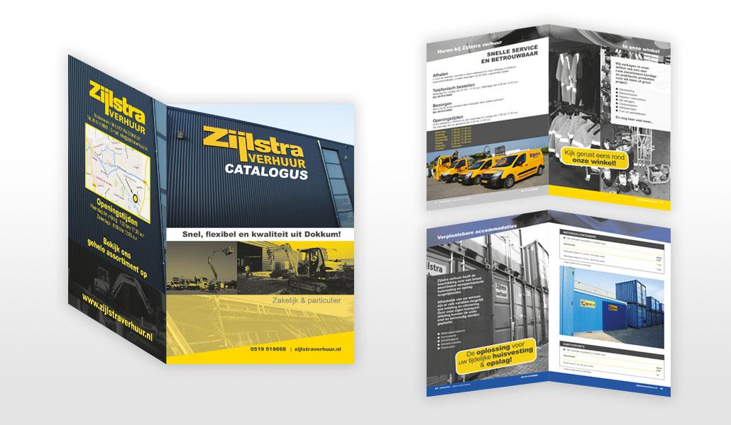 reclamebureau friesland grafisch ontwerp drukwerk productcatalogus