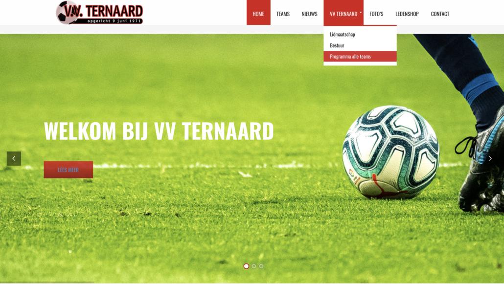 Reclamebureau-Damwoude-Dokkum-Friesland-Webdesign-Internet-VV Ternaard-VORM ELEVEN CC 3