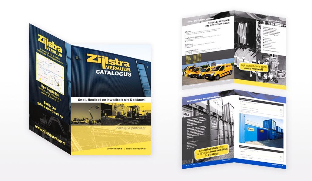 reclamebureau-friesland-grafisch-ontwerp-drukwerk-productcatalogus-Zijlstra verhuur-Dokkum
