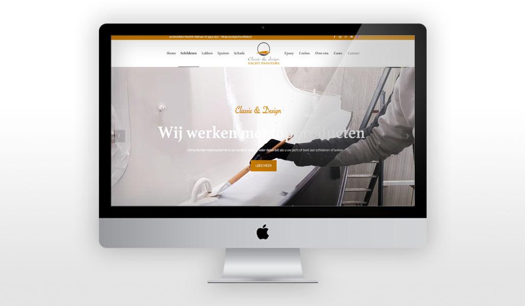 reclamebureau-friesland-internet-marketing-webdesign-vorm eleven cc-classic & design yachtpainters